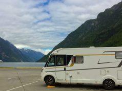 odda autocamperplads hardangerfjorden